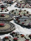 Oosterse bazaarvoorwerpen - juwelen stock foto's