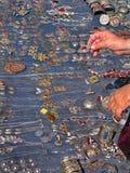 Oosterse bazaarvoorwerpen - juwelen royalty-vrije stock foto's