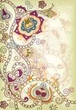 Oosterse Bloemen royalty-vrije illustratie