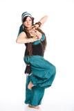 Oosterse danser Stock Afbeeldingen