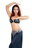 Oosterse danser Stock Foto