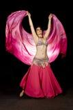 Oosterse dansersvrouw Stock Afbeelding