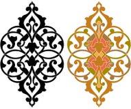 Oosterse decoratieve ontwerpelementen Royalty-vrije Stock Foto's