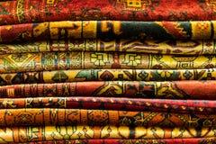 Oosterse dekens Stock Afbeelding