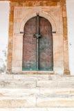 Oosterse deur Stock Afbeelding