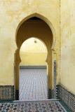 Oosterse deuren in Marokko Royalty-vrije Stock Afbeelding