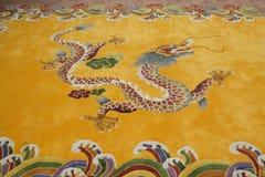 Oosterse draak, geïsoleerdt symbool Stock Foto