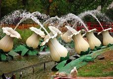 Oosterse fontein royalty-vrije stock foto