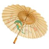 Oosterse geïsoleerdew paraplu Stock Afbeelding