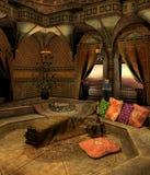 Oosterse kamer 2 royalty-vrije illustratie