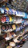 Oosterse markt in Istanboel Royalty-vrije Stock Afbeeldingen