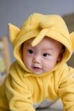Oosterse mooie baby stock afbeelding
