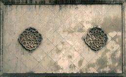 Oosterse muur royalty-vrije stock fotografie