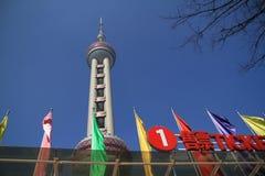 oosterse pareltoren in Shanghai Royalty-vrije Stock Afbeeldingen
