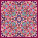 Oosterse patroonachtergrond Royalty-vrije Stock Foto