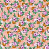 Oosterse pattern010 Stock Afbeeldingen