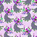 Oosterse pattern022 Stock Foto's