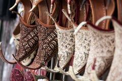 Oosterse schoenen Royalty-vrije Stock Foto