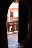 Oosterse Terrasse Royalty-vrije Stock Foto
