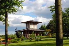 Oosterse tuin. royalty-vrije stock fotografie