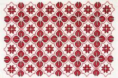 Oosteuropees borduurwerk stock foto