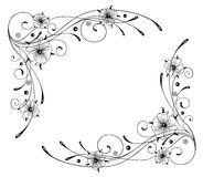 Oostindische kers, bloemen, kader Royalty-vrije Stock Afbeeldingen