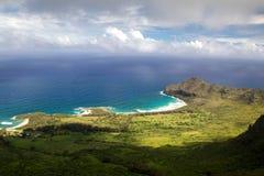 Oostkust van Kauai royalty-vrije stock afbeelding