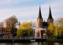 Oostpoort, Delft Lizenzfreie Stockfotografie