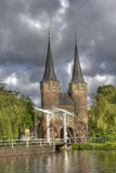 Oostpoort in Delft Royalty Free Stock Images