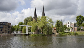 Oostpoort in Delft, Holland Royalty Free Stock Images