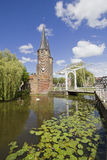 Oostpoort in Delft, Holland Stock Photography