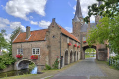 Oostpoort in Delft, Holland Royalty Free Stock Photo