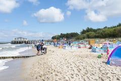Oostzee bij de zomerdag Stock Foto