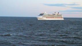 Oostzee en cruisevoering stock footage