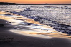 Oostzee in Polen Royalty-vrije Stock Fotografie