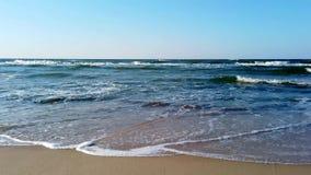 Oostzee van een vogelperspectief stock footage