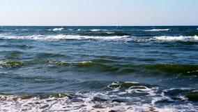 Oostzee van een vogelperspectief stock video