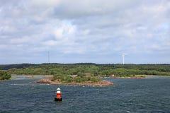 Oostzeearchipel. Royalty-vrije Stock Afbeeldingen