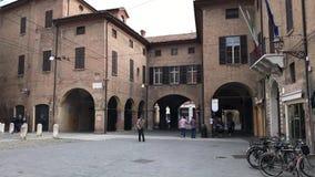Ootage που λαμβάνεται στο κέντρο της πόλης της Μοντένας - βόρεια Ιταλία φιλμ μικρού μήκους