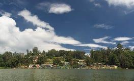 Ooty湖在Nilgiris 免版税库存图片