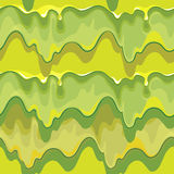 Oozing green slime vector seamless pattern Stock Photo