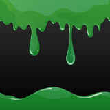 Oozing slime seamlessly repeatable royalty free illustration