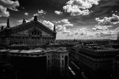 Opéra de nacional Paris Imagens de Stock Royalty Free