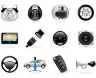 Opções do carro ilustração do vetor