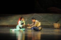Opéra affectueux de Jiangxi de mari et d'épouse une balance Photo stock