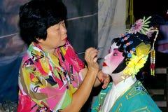 Opéra chinois Images libres de droits