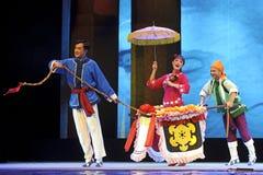 Opéra chinois de Chu Image libre de droits