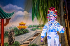 Opéra chinois de rue Photographie stock libre de droits