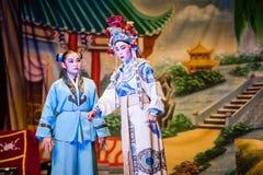 Opéra chinois de rue Photos libres de droits