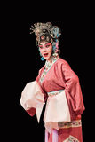 Opéra chinois de tradtional au théâtre de Chang An, Pékin, Chine Photo stock